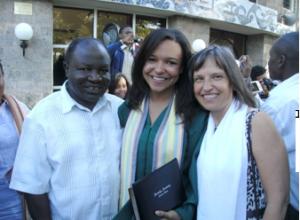 Debbi & us at graduation