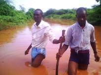 flood wading
